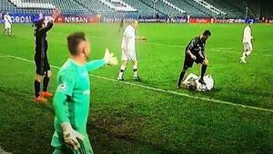 Ronaldodan şok eden görüntü