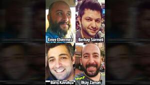 Californiada ava çıkan dört Türk kayboldu