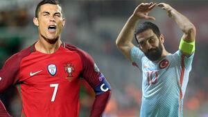 Arda Turan ve Ronaldo tarihe geçti