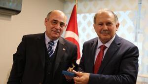 Konsolos Mikatsadze, Vali Doğanay'ı ziyaret etti