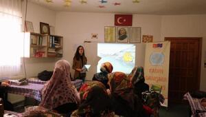 Kadın danışma merkezi eğitimlerini sürdürüyor