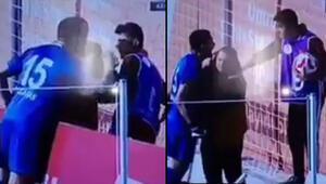 Sivasspor kalecisinden top toplayıcı çocuğa tepki