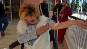 Şiddet mağduru Özbek kadına yeni rapor; kocaya gözaltı
