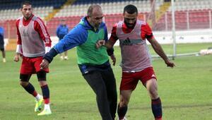 Mersin İdmanyurdu Ümraniyespor maçı hazırlıklarını sürdürüyor