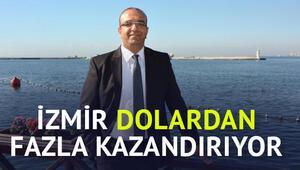 İzmir dolardan fazla kazandırıyor
