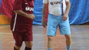 Trabzonspor'un efsanelerinde kazanan bordo takım oldu