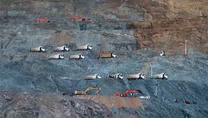 Siirtte maden ocağındaki heyelanda toprak altında kalan bir işçinin daha cansız bedeni çıkarıldı