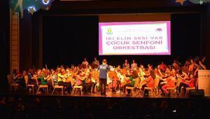 Çocuk Senfoni Orkestrası Ankarada UNICEF için çaldı