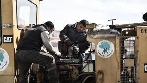 Mamak Belediyesi araçlarının tamir ve bakımını yapıyor