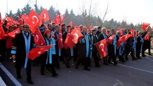 Balıkesir Üniversitesinden teröre lanet yürüyüşü