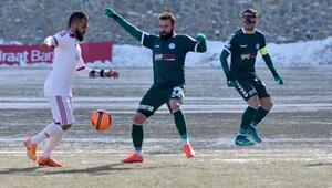 Gümüşhanespor-Atiker Konyaspor: 1-1 (Ziraat Türkiye Kupası)