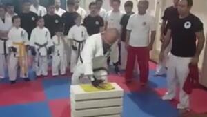 Hünkar Kasrında bir ilk: Karateci imam