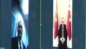 Binali Yıldırım 4,5 ile ilk görüşmeyi, Cumhurbaşkanı Erdoğan ile yaptı