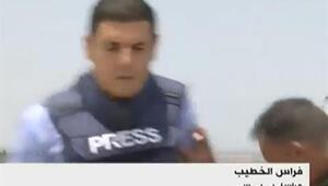 Canlı yayında BBC muhabirine yumruklu saldırı