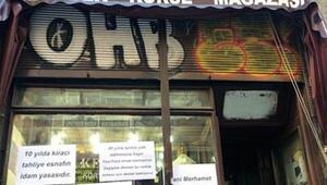 İlk kurban Beyoğlunun 80 yıllık tarihi Kelebek Korse Mağazası oldu