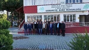 Osmaniyede avcılara AVBİS sistemi anlatıldı