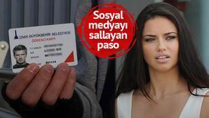 Belediyeden Beckhamlı kart yanıtı: Sadece o değil Adriana Lima da var