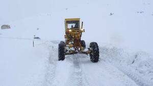 Adıyamanda 28 köy yolu ulaşıma kapandı