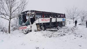 Sinopta uçuruma yuvarlanan otobüste 5 ölü - fotoğraf