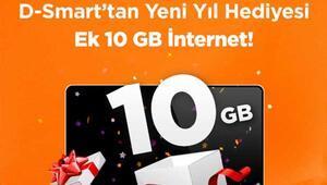 D-Smart'tan Yeni Yıl Hediyesi Ek 10 GB İnternet
