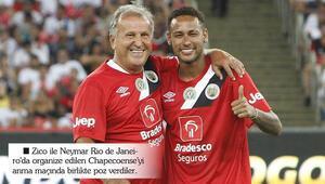 Zico ve Neymar aynı takımda