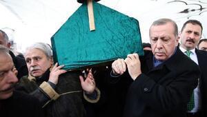 Erdoğan Fatih Camiinde cenaze törenine katıldı