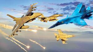 Türkiyeden koordinat Rusyadan operasyon