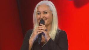 Cem Karacanın eşi O Ses Türkiye sahnesinde