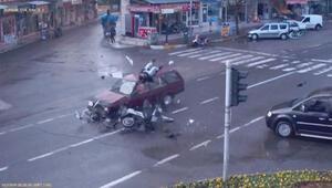 Adıyamanda trafik kazaları mobesede