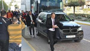 Galatasaray kamp için Antalyaya gitti