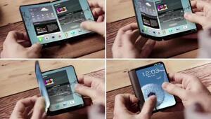 Samsung ekranı katlanabilen telefona taktı