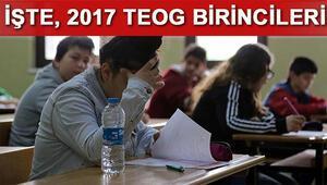 TEOG 2016-2017 birincileri belli oldu