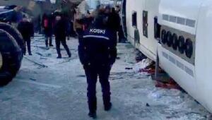 Cihanbeylide öğrenci servisi devrildi: 2 ölü, 16 yaralı (1)