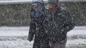 Edirnede okullara kar tatili (3)