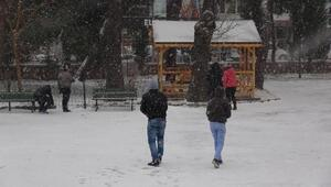 Edirnede okullara kar tatili (4)