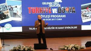 Talas'ta Türkiye ve Dünya gündemi konuşuldu