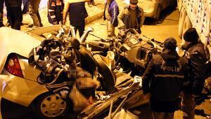Bayburtta zincirleme trafik kazası: 3 ölü, 5 yaralı