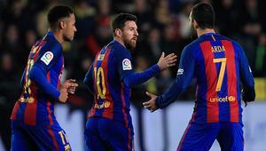 Messi 90da Barcelonayı kurtardı