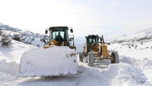 Erzincan'da 144 köy yolu ulaşıma kapalı