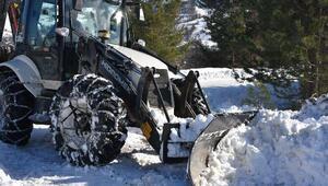 Sinopta 228 köy yolu kardan kapandı