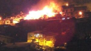 Ermenekte ev yandı; baba ve kurtarmak istediği 2 kızı öldü - Ek fotoğraf)