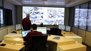 Çerkezköy OSBde kar ve fırtınaya mobeseli müdahale