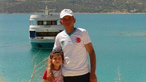 Yangında ölen baba ve iki kızı son yolculuğuna uğurlandı - ek fotoğraf