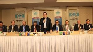 Aksaray Belediye Başkanı, gazetecilerle biraraya geldi