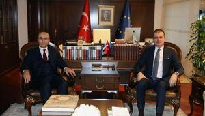 Vali Demirtaş Bakanlar ile Adanayı konuştu