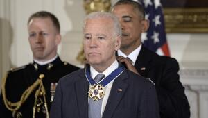 Obama Bidena ABD'nin en yüksek madalyasını verdi