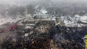 Türk kargo uçağı evlerin üzerine düştü... Çok sayıda ölü var