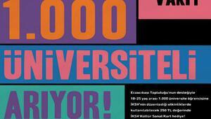 İKSV 1000 üniversiteli arıyor