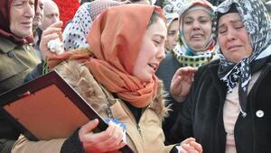 Şehit polis Miraç Kadir Özcanın cenazesi Trabzonda (2)