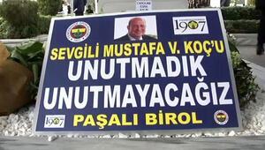 Mustafa Koç ölüm yıl dönümünde mezarı başında anıldı